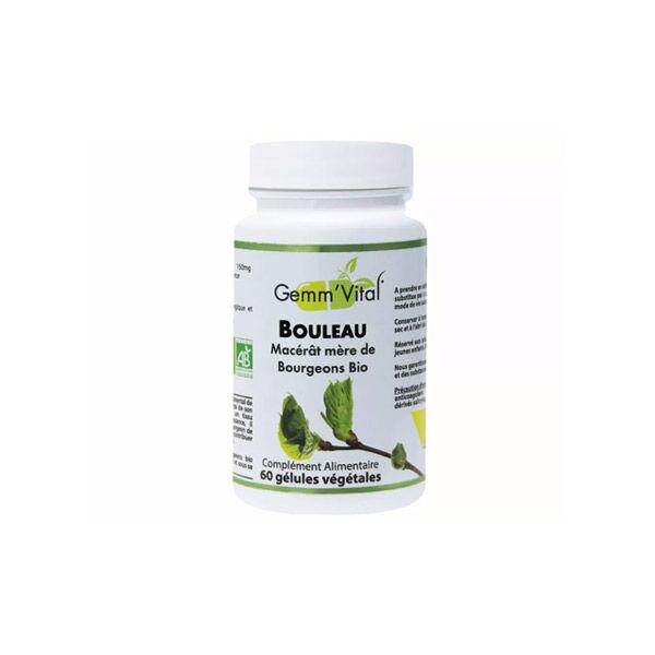 Vit'all+ Bourgeons de Bouleau Bio 60 gélules végétales