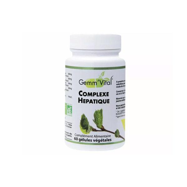 Vit'all+ Complexe Hépatique Bio 60 gélules végétales