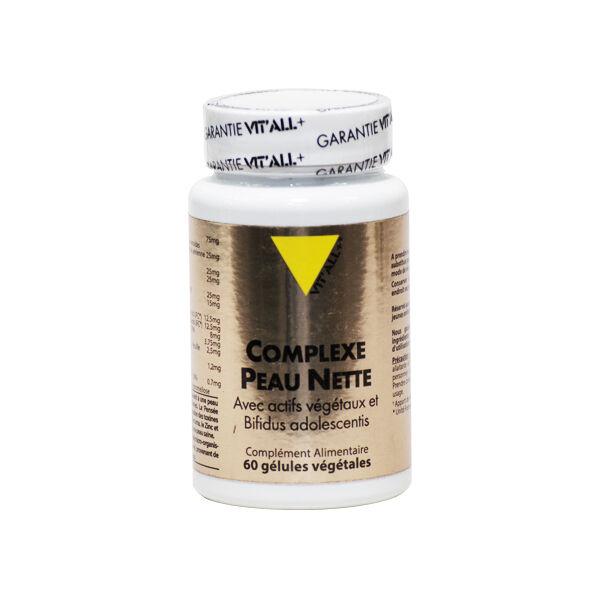 Vit'all+ Complexe Peau Nette 60 gélules végétales