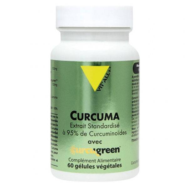 Vit'all+ Curcuma 60 gélules