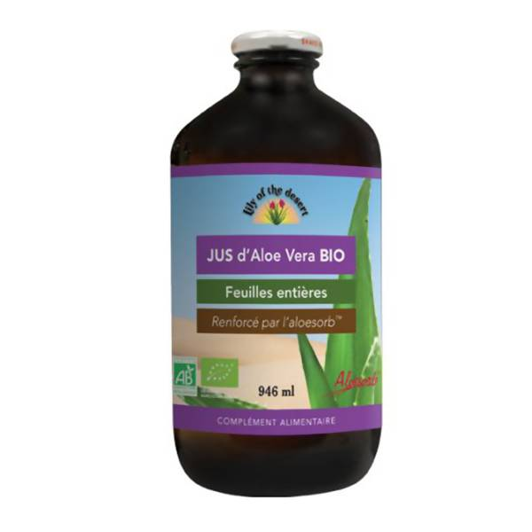 Lily of the Desert Jus d'Aloe Vera Bio 946ml