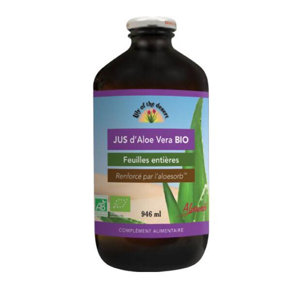 Lily of the Desert Jus d'Aloe Vera Bio 946ml