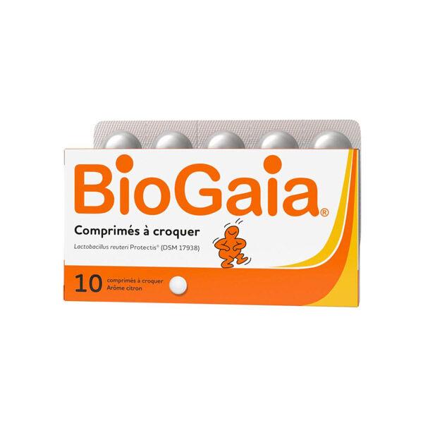 BioGaia Lactobacillus Reuteri ProTectis 10 comprimés Goût Citron