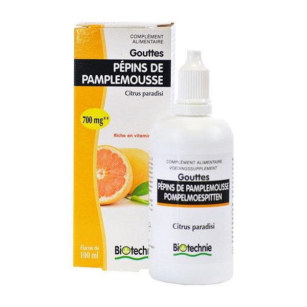 Biotechnie Pépins de Pamplemousse Extrait Fluide 100ml