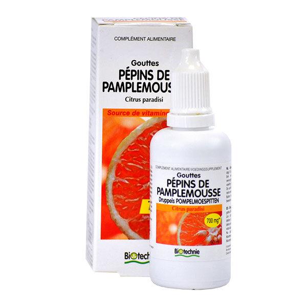 Biotechnie Pépins de Pamplemousse Extrait Fluide 50ml