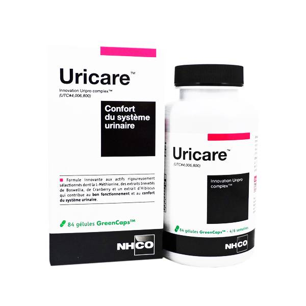 Nhco Uricare Confort du Systeme Urinaire 84 gelules