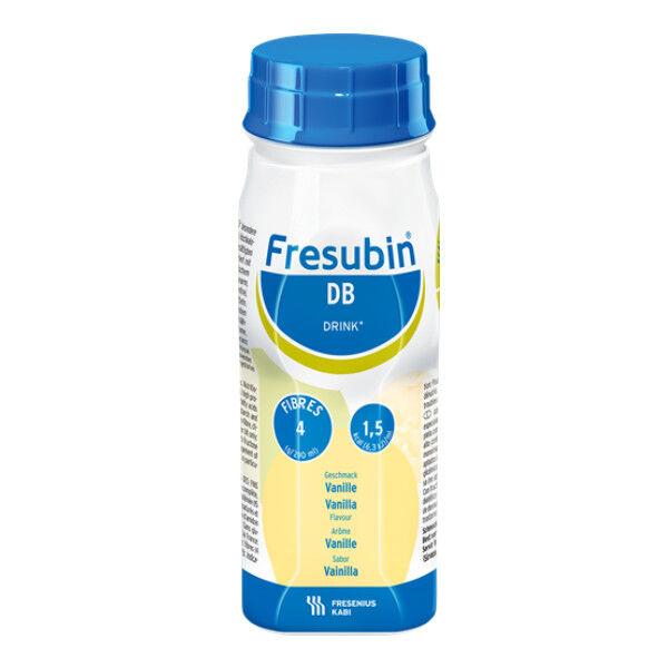 Fresenius Fresubin DB Drink Vanille Aliment Liquide 4 x 200ml