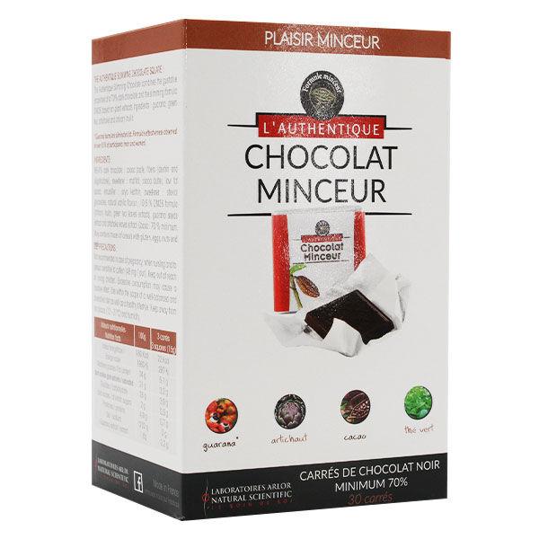 Arlor L'Authentique Chocolat Minceur Stevia 30 carrés