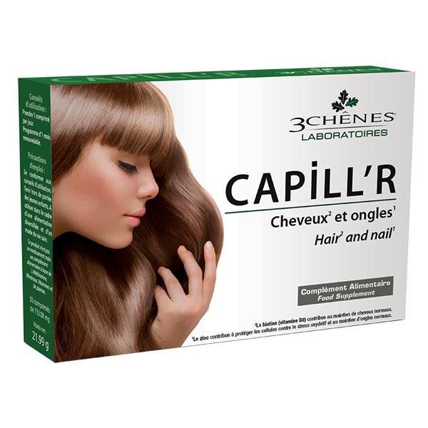 Les 3 Chênes Capill'r Cheveux et Ongles 30 comprimés