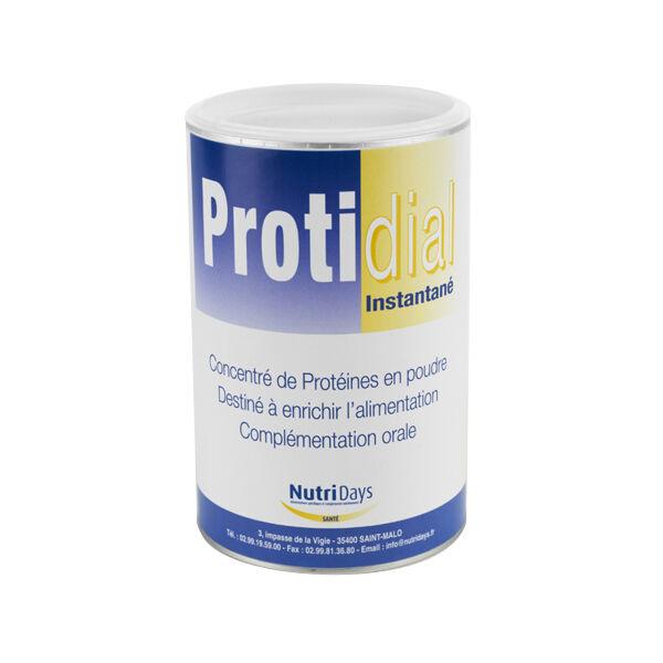 Nutridays Protidial Instantané Concentré de Protéines en Poudre 500g