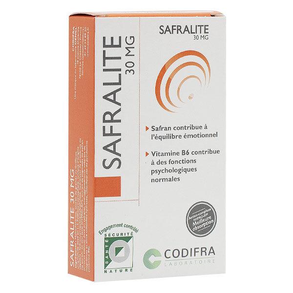 Codifra Safralite 30mg boite de 28 gélules