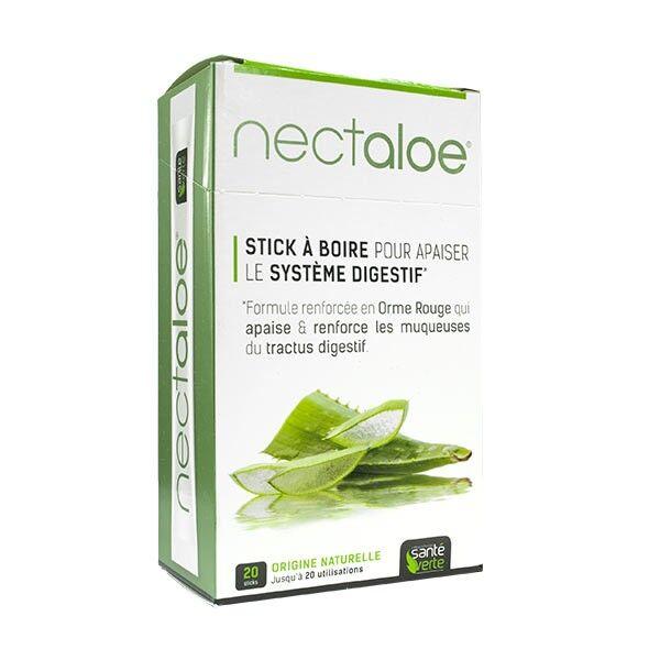 Santé Verte Nectaloe Stick à Boire Système Digestif 20 sticks