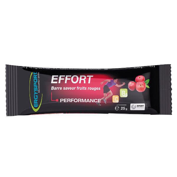 Nutergia Ergysport Effort Barre Fruits Rouges 25g