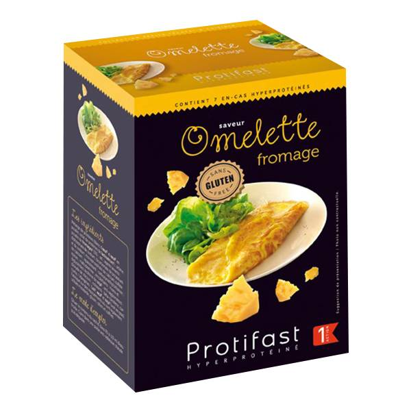 Protifast Petits Plats Omelette Fromage 7 sachets