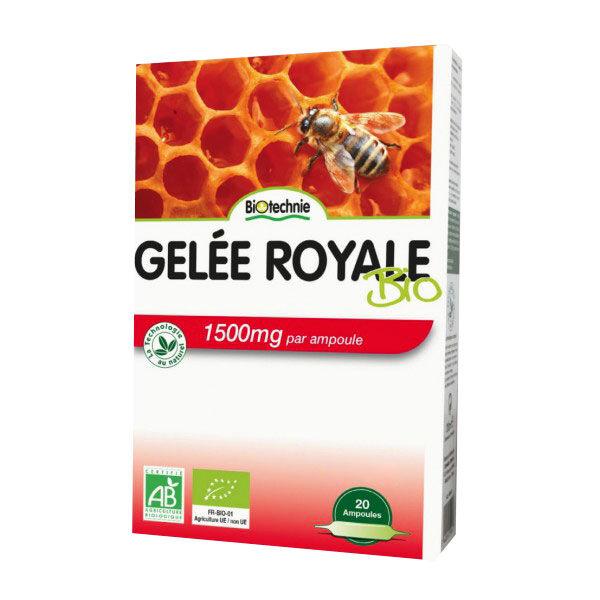 Biotechnie Gelée Royale Bio Vitalité 20 ampoules