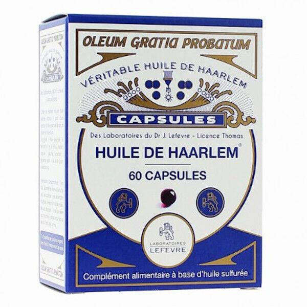 Lefevre Huile de Haarlem Originale 60 capsules