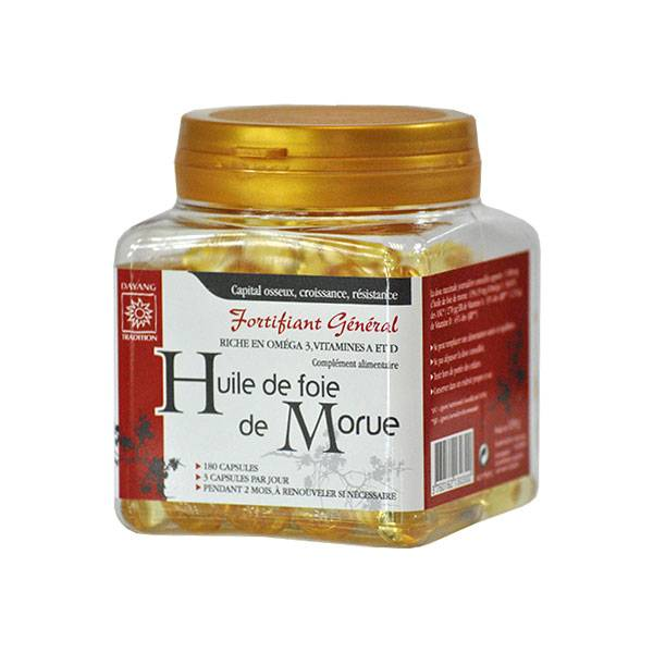 Dayang Huile de Foie de Morue 180 capsules
