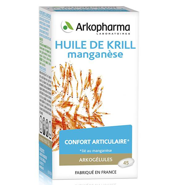 Arkopharma Arkogélules Huile de Krill 45 gélules