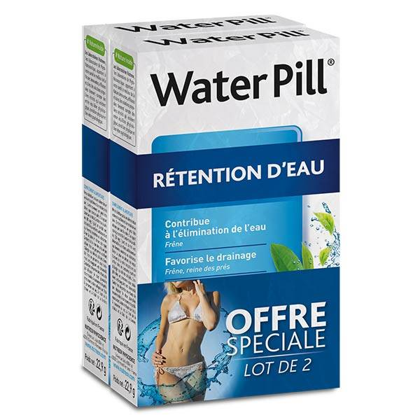 Nutreov Physcience WaterPill Rétention d'Eau Lot de 2 x 30 comprimés