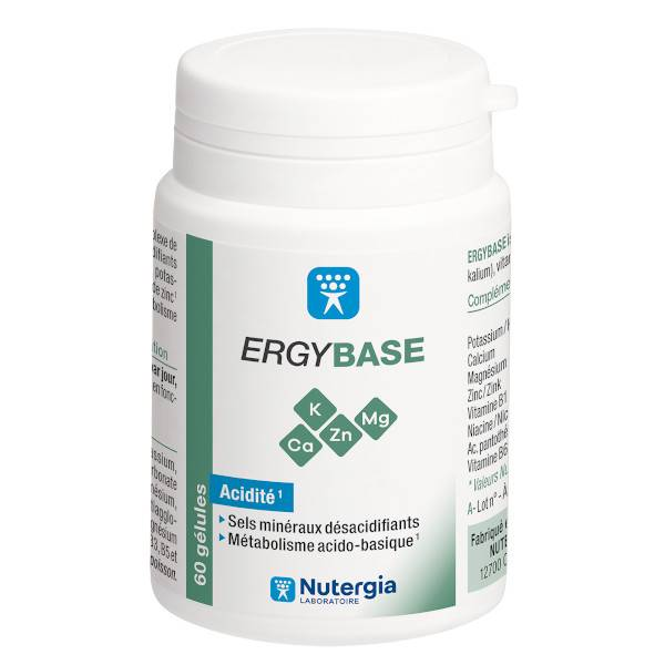 Nutergia Ergybase 60 comprimés