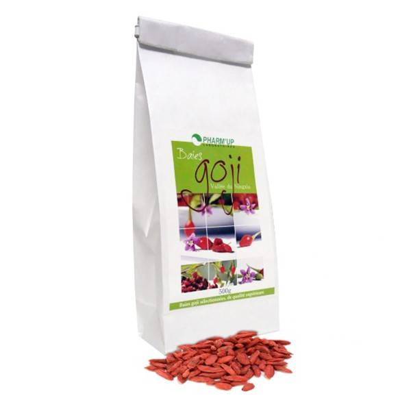 Pharm'Up Baies de Goji Sachet Papier 500g