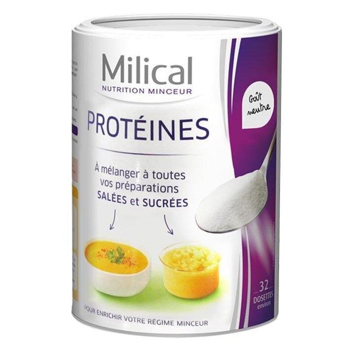 Milical Pur Protéines Goût Neutre 400g