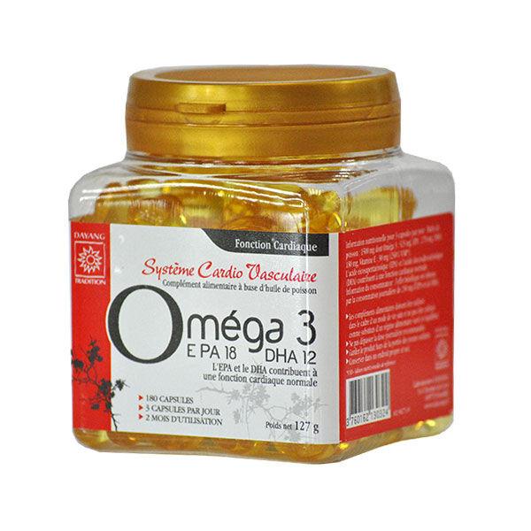 Dayang Oméga 3 EPA18 DHA12 180 capsules