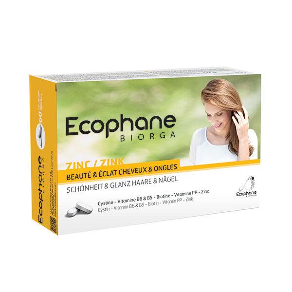 Bailleul Biorga Ecophane Beauté & Eclat Cheveux et Ongles 60 comprimés
