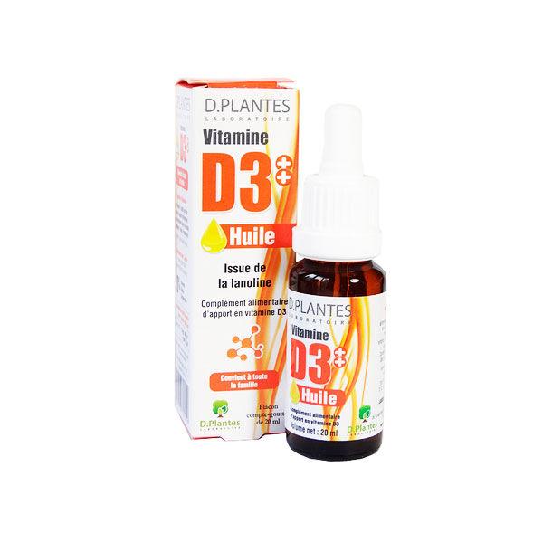 D.Plantes D-Plantes Vitamine D3 Huile 400UI 20ml