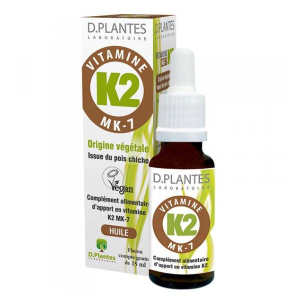 D-Plantes Vitamine K2 MK-7 15ml