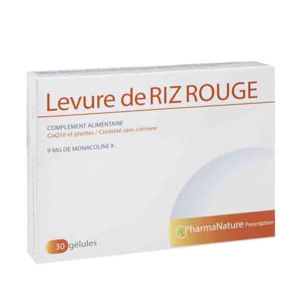 Prescription Nature Levure de Riz Rouge 30 gélules