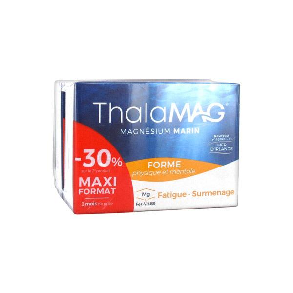 Thalamag Magnésium Marin Forme Physique & Mentale Lot de 2 x 60 gélules