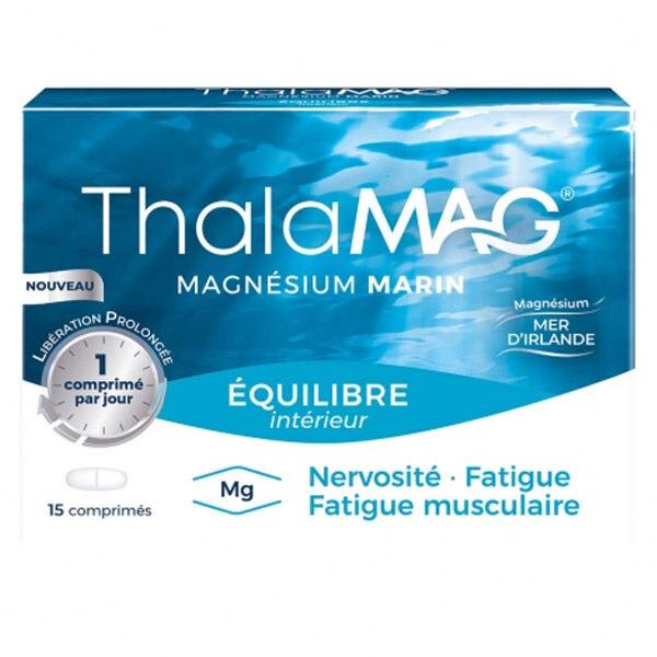 Thalamag Magnésium Marin Equilibre Intérieur LP 15 comprimés