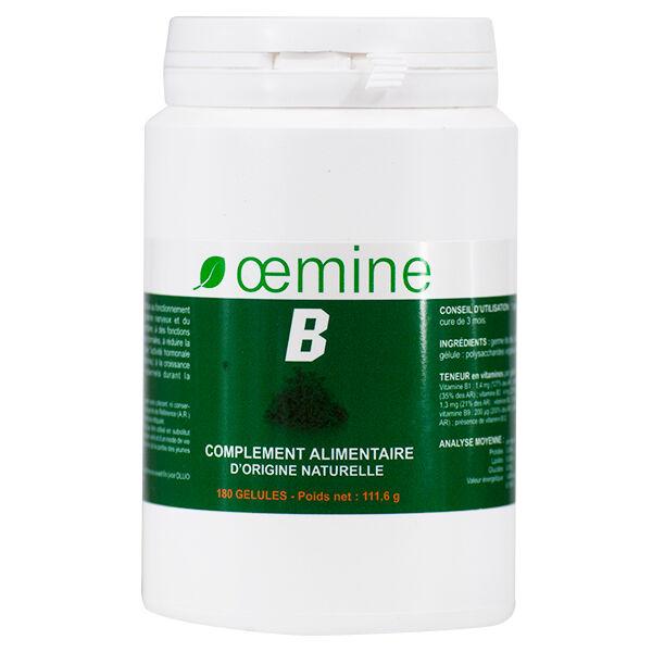 Oemine B Concentré de Germe de Blé 180 gélules