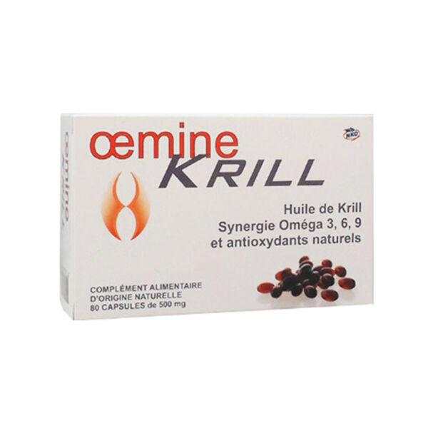 Oemine Krill 80 capsules