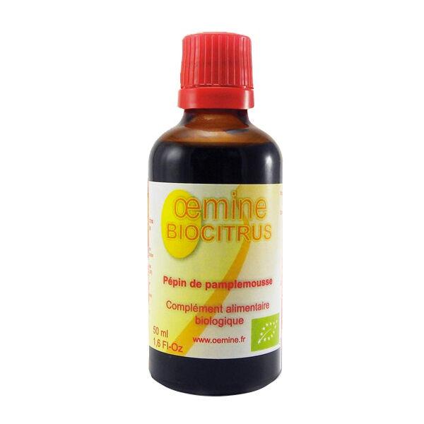 Oemine Biocitrus Extrait de Pépins de Pamplemousse 50ml
