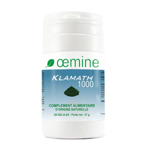 Oemine Klamath 1000 Bio 60 gélules