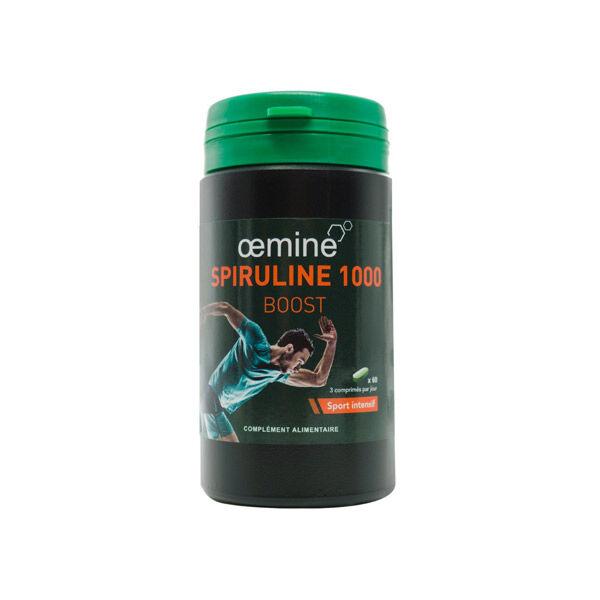 Oemine Spiruline 1000 Boost Bio 60 comprimés