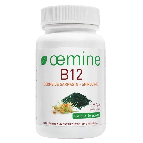 Oemine B12 Germe de Sarrasin Spiruline 60 gélules