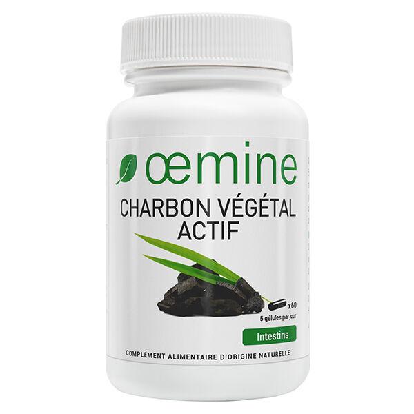 Oemine Charbon Végétal Actif 60 gélules