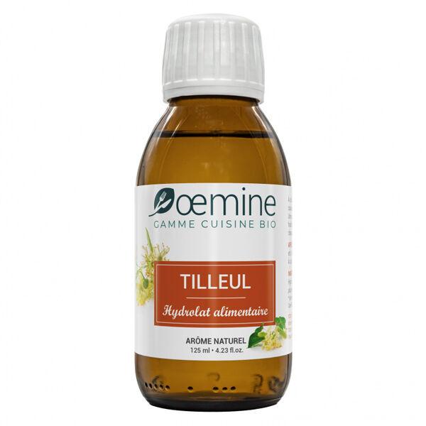 Oemine Eau Florale Alimentaire Tilleul Bio 125ml