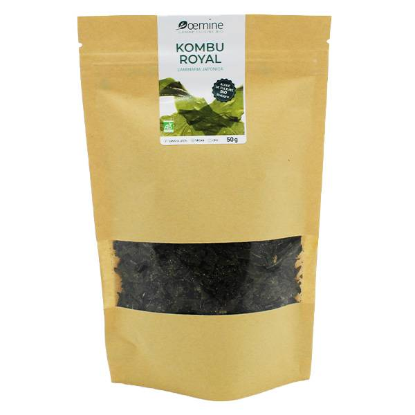 Oemine Algue Alimentaire Kombu Royal Bio 50g