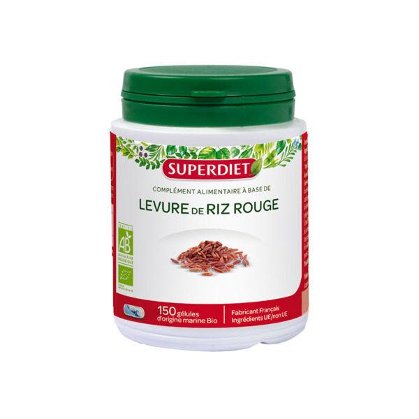 Super Diet Levure de Riz Rouge 150 gélules