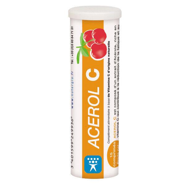 Nutergia Acerol C 15 comprimés