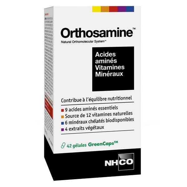 Nhco Orthosamine Acides Aminés Vitamines Minéraux 42 gélules