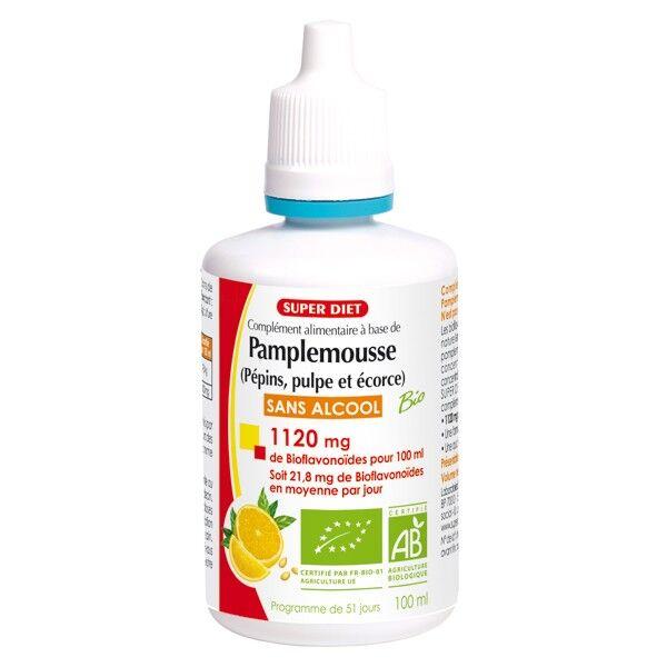 SuperDiet Super Diet Extrait de Pépins de Pamplemousse Bio 100ml