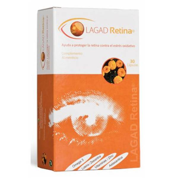 Lagad Vision Lagad Retina 30 capsules