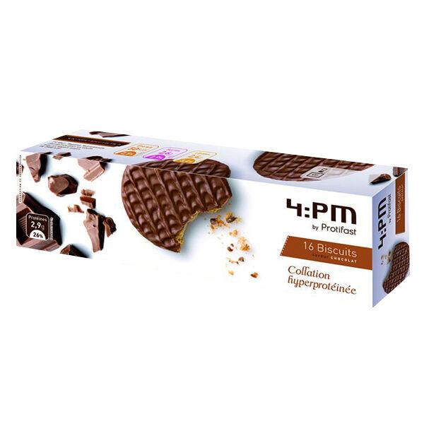 Protifast En-Cas Hyperprotéiné Chocolat 16 biscuits