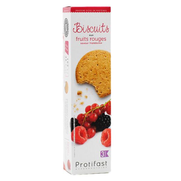 Protifast En-Cas Hyperprotéiné Fruits Rouges 20 biscuits