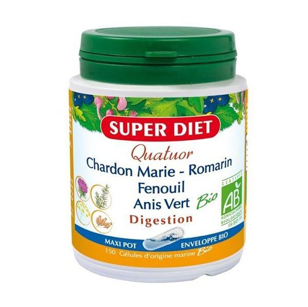 Super Diet Quatuor Digestion Bio 150 gélules